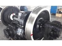 Ремонт тепловозных колесных пар и осевых редукторов
