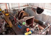 Repair of a Siemens gas turbine in a power plant