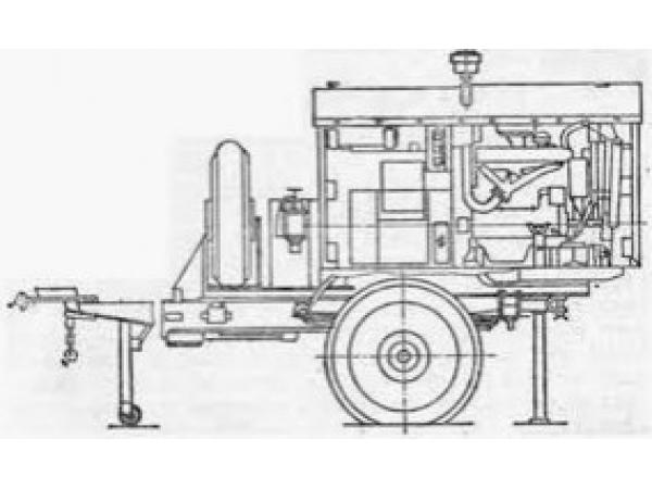 ПИ006206 Агрегат сварочный АСД-3