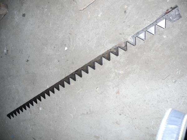Нож с литой (стальной) головкой, сегмент Н 066.02, КЗНМ 08.040/4.1