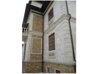 Облицовка фасадов натуральным дагестанским камнем