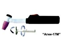 АГНИ-17МУ Горелка для аргонодуговой сварки (Шлейф усиленный)