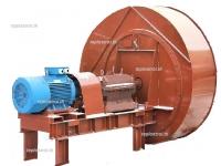 Вентилятор ВДН-12,5Х-1500 с посадкой рабочего колеса на вал ходовой