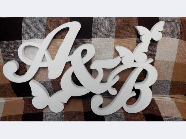 Как сделать объемную надпись из пенопласта
