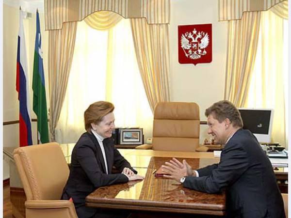 Газпром и правительство Югры обсудили ход газификации ХМАО