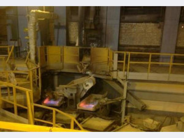 На Уралэлектромедь запущена новая анодная печь