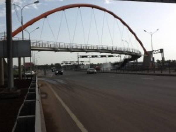 «Северсталь-метиз» изготовил канаты для моста через Таллинское шоссе в Петербурге