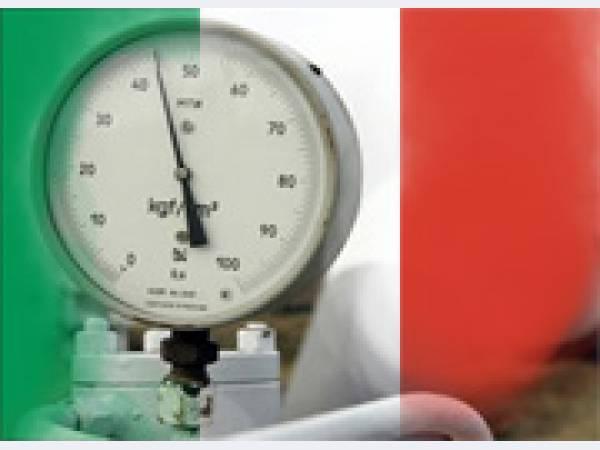 В текущем году «Газпром» втрое увеличил поставки газа в Италию