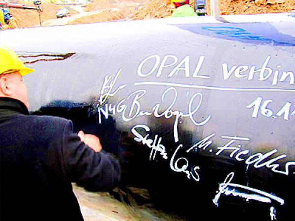 Германия разработала новую схему использования трубопровода OPAL
