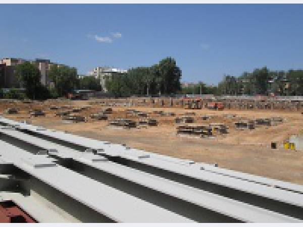 «Северсталь» начала монтаж металлоконструкций паркинга в Самаре