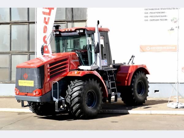 С конвейера Кировского завода сойдет 1000-й трактор «Кировец» 2015 года выпуска