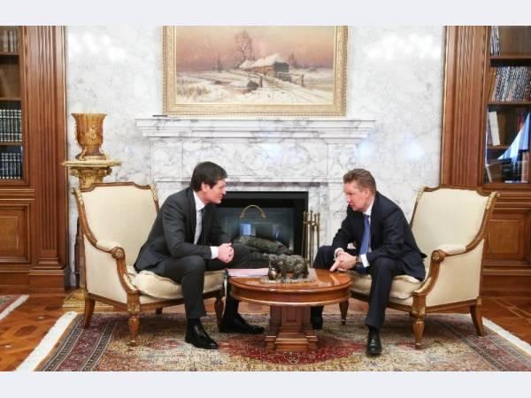 ОМК и Газпром развивают сотрудничество