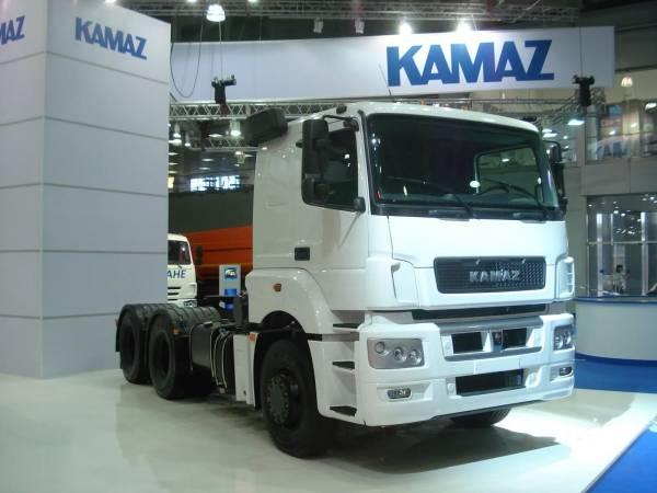 КамАЗ начал производство обновленного седельного тягача