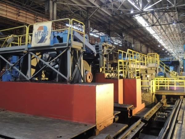 На ЧерМК модернизируют оборудование в цехе травления металла