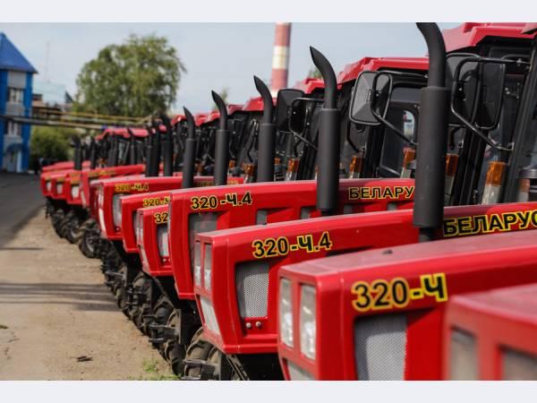 В Череповце могут локализовать сборку белорусских тракторов