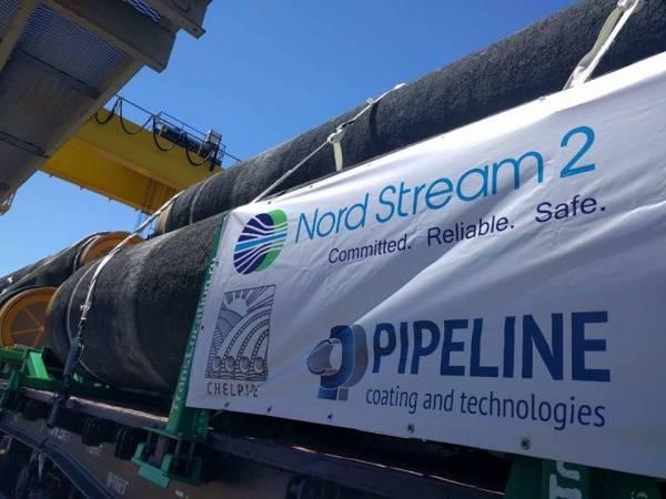 Группа ЧТПЗ отгрузила первую партию труб с бетонным покрытием для Северного потока-2