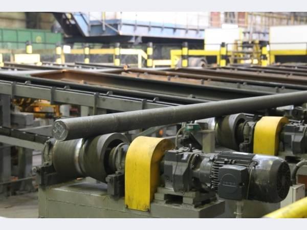На ЕВРАЗ НТМК запущен в эксплуатацию участок обработки трубной заготовки
