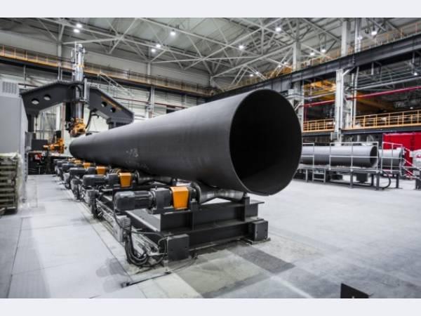 Загорский ТЗ отгрузил первую партию труб для Газпрома