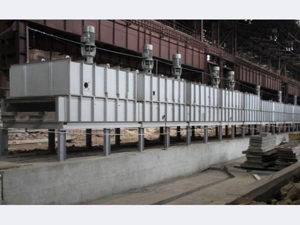 На ЕВРАЗ НТМК приступили к монтажу технологического оборудования шаропрокатного стана