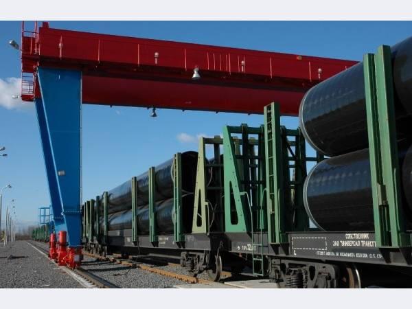 Ижорский ТЗ отгрузил более 42 тыс. т труб для проекта «Сила Сибири»