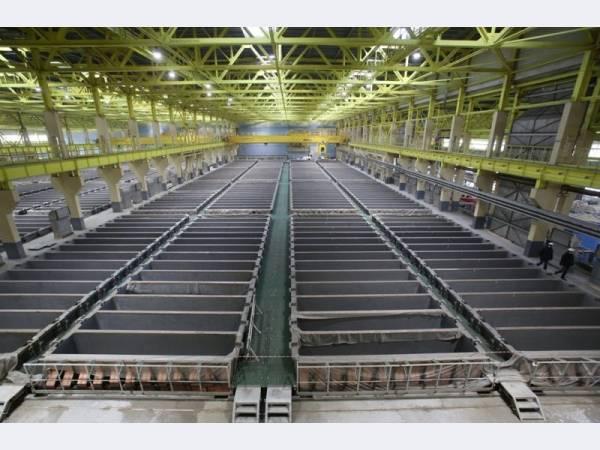 Уралэлектромедь завершает ошиновку цеха электролиза меди