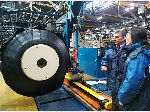 Волжский шинный завод открыл новый цех по производству сельскохозяйственных шин