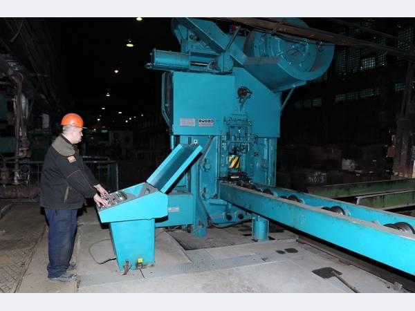 На Уралвагонзаводе заработали отечественные пресс-ножницы