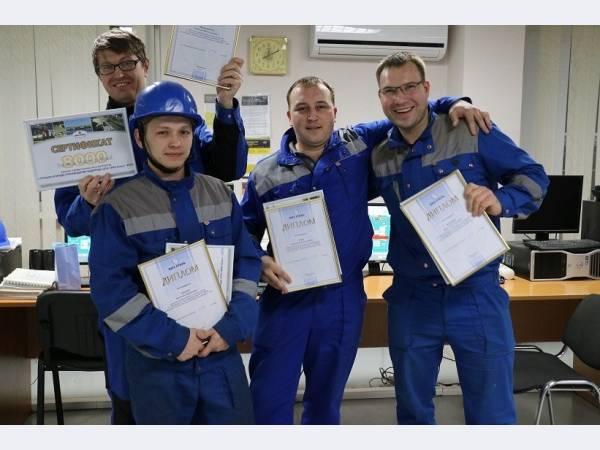 На ВИЗ-Стали выявили лучшую бригаду по производству водорода