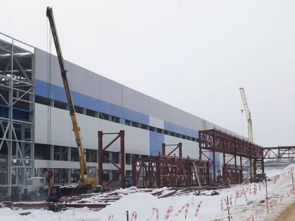 На Тулачермет-Стали заканчивают строительство прокатного стана