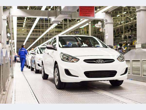 Hyundai планирует нарастить продажи в России в 2018 г на 10%