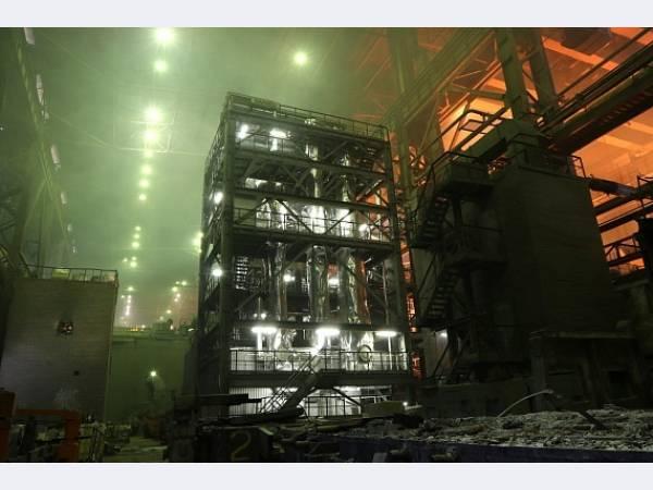 Металлоинвест повысил производительность установки вакуумирования стали на Уральской Стали