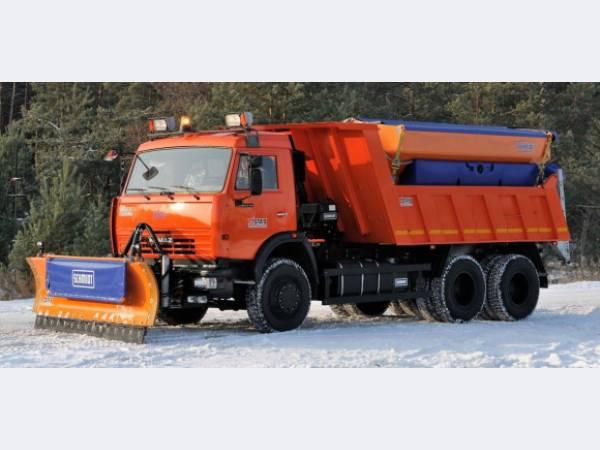 Дорожная техника на базе шасси КАМАЗ направлена в Татарстан