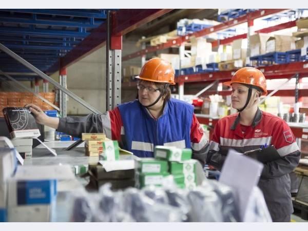 На ВМЗ внедрена автоматизированная система управления складскими запасами