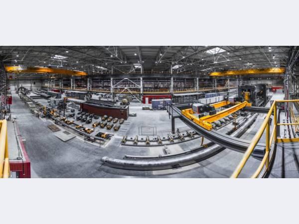 Загорский трубный завод вышел на производственную мощность