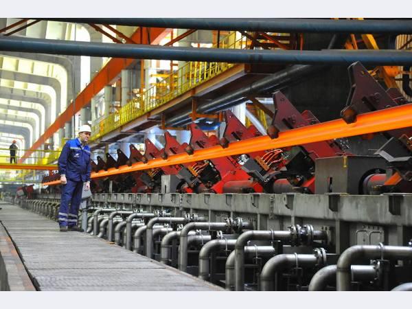 ЧМК изготовил рельсы для бархатных путей Московского метро